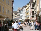 Shoppingtour in Bruneck